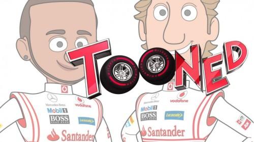 McLaren Tooned