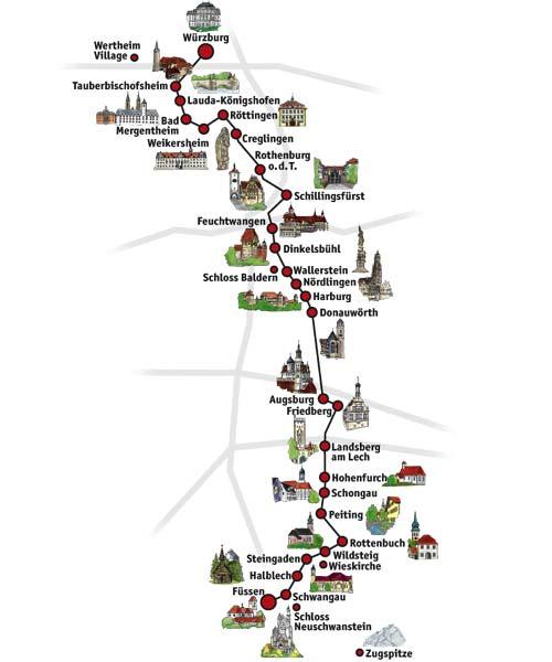 Castle Route Road Trip