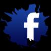 Cracked-Facebook-Logo