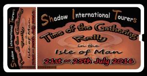 Manx Rally Ticket
