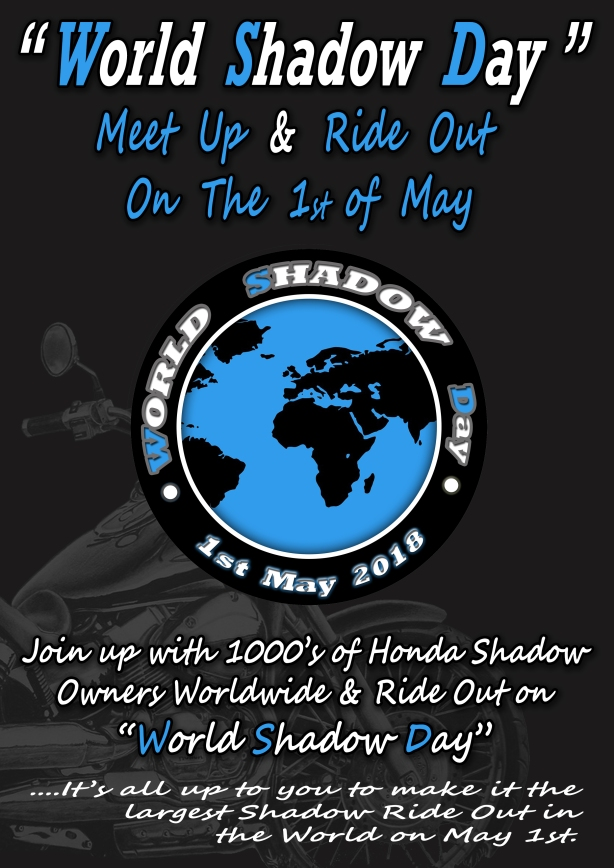 Meet Up & Ride Out May 1st 2018